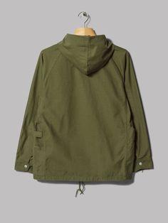 Sassafras Gardener Bud Breaker Jacket (Olive Back Satin)