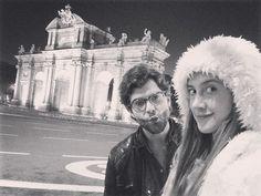 Madrid con el hermoso @diegomceaoficial