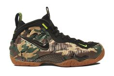 camo foamposite special edition packaging 5 Nike Air Foamposite Pro Camo   Special Edition Packaging