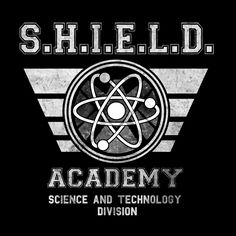 Shield Academy T-Shirt $9 Agents of SHIELD tee at Zebra Tees!
