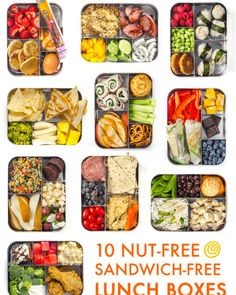 Prep-and-Pack Lunch Ideas That Aren't Sandwiches 10 Sandwich-Free Lunch Ideas for Kids and Grownups Alike — Think Outside the (Lunch) Sandwich-Free Lunch Ideas for Kids and Grownups Alike — Think Outside the (Lunch) Box Clean Eating Snacks, Healthy Snacks, Healthy Eating, Healthy Recipes, Kid Snacks, Healthy Packed Lunches, Healthy School Lunches, School Snacks, Detox Recipes
