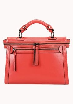Brittney Vintage Cross Body Bag - Watermelon Red