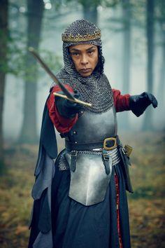 Sophie Okonedo as Margaret of Anjou in The Hollow Crown