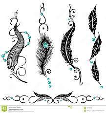 Znalezione obrazy dla zapytania tatuaż indiańskie pióro