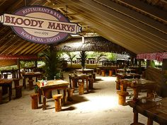 Bora Bora 'Bloody Marys' - named for the character in the musical 'South Pacific'.