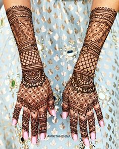 #saturday #weekendvibes #saturdays #bridalhenna #fashiongram #stylediaries #lifestyle #weddinginspiration #weddingphotography… Mehndi Designs Book, Full Hand Mehndi Designs, Legs Mehndi Design, Mehndi Design Pictures, Wedding Mehndi Designs, Beautiful Henna Designs, Latest Mehndi Designs, Mandala Tattoo Design, Henna Tattoo Designs