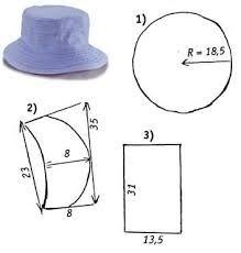moldes de chapeu menino - Google Search