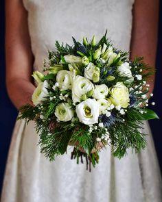 This bouquet would fit the Seasonal Garden Package Wedding Flower Decorations, Bridal Flowers, Wedding Centerpieces, Hydrangea Bouquet, Winter Bouquet, Bride Bouquets, White Roses, Floral Wedding, Floral Arrangements