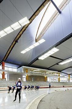 Speed Skating Stadium Inzell | Inzell | Germany | Wood in Architecture 2013 | WAN Awards