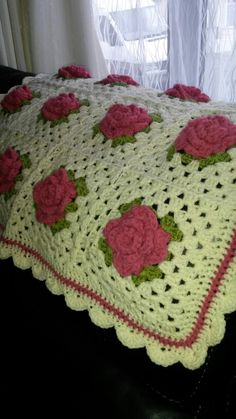 Free crochet afghan patterns irish crochet afghan crochet for vintage roses vintage rosescrochet motifcrochet afghanscrochet dt1010fo