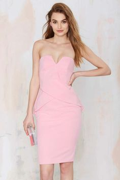 Finders Keepers In Between Days Strapless Dress