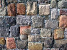 naturstein mauer im garten errichten | gartenmauer | pinterest