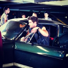 Zac filming a commercial for John John ~ June 2, 2012 ~ Downtown LA