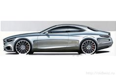 S-class Coupe C217 2014