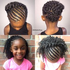 Hairstyles For 7 Year Olds Entrancing I Love This For A 7 Year Old Girl  Hairstyles For Emani