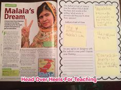 Author's Point of View/Perspective-using Post-It notes and template while reading non-fiction text.  Great blog post explaining how this is used in the classroom.