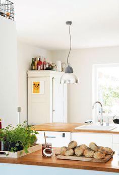 Lejlighed med have: Etnisk stil i nordiske rammer - Boligliv