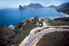South Africa - Cape Town -Chapman's Peak and Noordhoek - Drive a spectacular marine drive. Cape Town Tourism, South Afrika, Table Mountain, Nature Adventure, Out Of Africa, Amalfi Coast, Places To See, Scenery, Outdoor