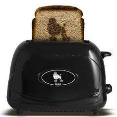 Pangea Brands 2-Slice Poodle Emblazing Toaster Available on THE POODLE PATCH through AMAZON http://amzn.to/2anqOZM