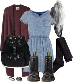 tumblr grunge outfits for school - Google-Suche