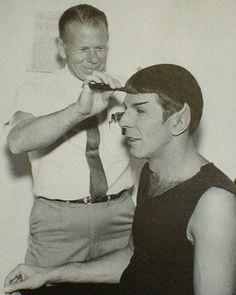Spock in make-up