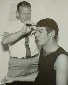 Spock gets a trim