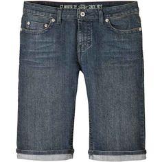 Dickies Women's Denim Bermuda Short ($25) ❤ liked on Polyvore