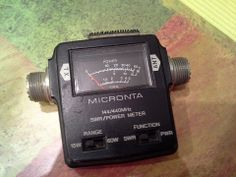 Micronta 144/440 swr/pwr meter made by Tandy for Radio Shack cat #19-320