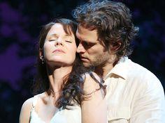 Kelli O'Hara as Francesca Johnson & Steven Pasquale as Robert Kincaid in The Bridges of Madison County