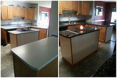 DIY Countertops for $40. Home Decor. DIY.