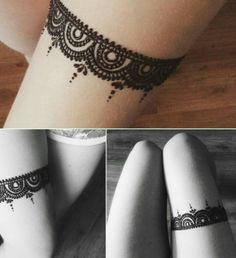 Lace henna design, so beautiful More