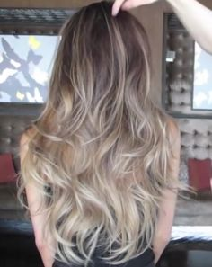 Ash blonde ombre balayage by Guy Tang More