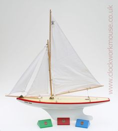 Ocean Star yacht - rigging details.