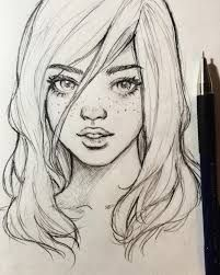 Image result for sketchings of girls