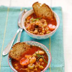 Tomaattinen papukeitto Chana Masala, Ethnic Recipes, Food, Eten, Meals, Diet