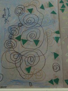 spirales et Klimt chez Yobrego
