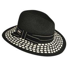 3427847d8be Valeria Straw Fedora Spring Hats