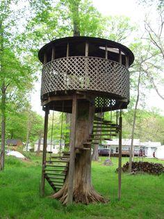 My treehouse.