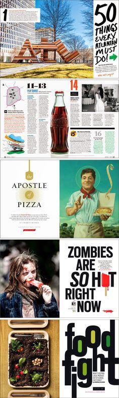 Art Director: Eric Capossela for Atlanta Magazine