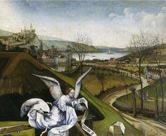 robert campin, nativity (detail)