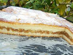 Jednoduchý jablkovo-pudingový koláč (fotorecept) - recept | Varecha.sk Sweet Recipes, Tiramisu, Deserts, Ethnic Recipes, Food, Basket, Desserts, Dessert, Meals