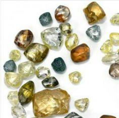Gorgeous rough diamonds