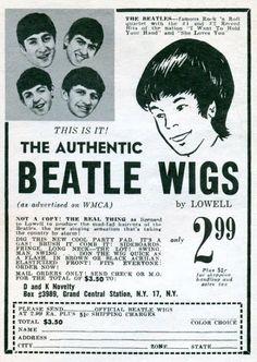 Los Beatles: ¡comprá el look de los cuatro de Liverpool por sólo 2,99 dólares!