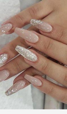 24 Cute and Awesome Acrylic Nails Design Ideas for 2019 - Page 2 of 24 - Nageldesign - Nail Art - Nagellack - Nail Polish - Nailart - Nails - Prom Nails, Long Nails, Short Nails, Wedding Nails, Nails 24, Wedding Acrylic Nails, Wedding Makeup, Wedding Pedicure, Bridal Nails