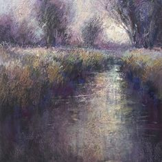 Free Pastel Techniques from Richard McKinley | Representing Color Harmony with Pastel Layering #painting