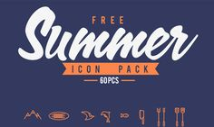 A Hot Collection Of Free Summer Icons You Should Have