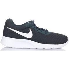 vette Nike tanjun dames sneakers (Groen)