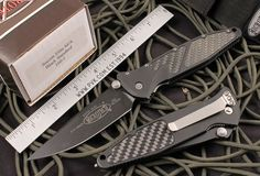 Microtech SOCOM Elite 160-1CF M/A BT folding knife