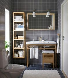 Fliesen für kleines Bad -groß, klein, mittelgroß...Welche auszuwählen?