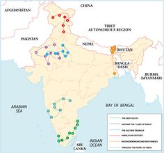 Itineraries -  India's simply too vast and too complex to explore in a single trip. It makes more sense to focus on one, two or perhaps three regions, depending on your time frame. The following itineraries showcase …